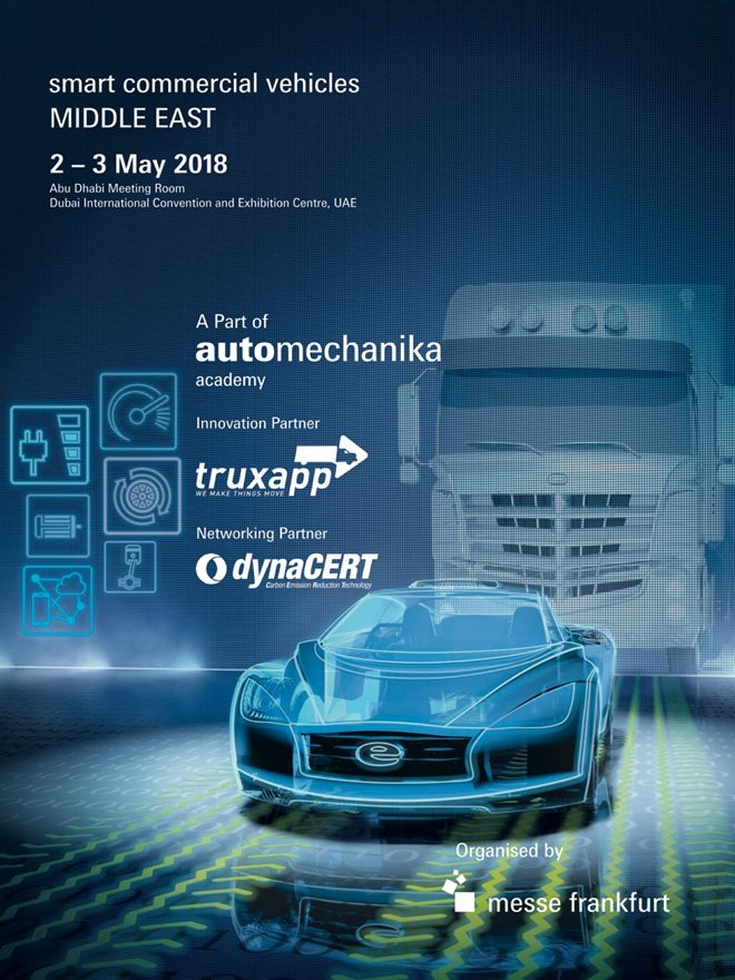 dynaCERT is pleased to announce that we will be the networking partner at the Smart Commercial Vehicles MIDDLE EAST Conference