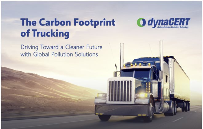 The Carbon Footprint of Trucking Driving Toward A Cleaner Future